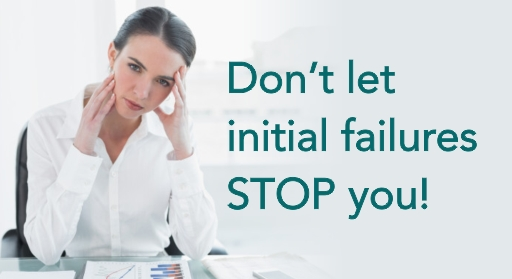 Women Entrepreneurs - Don't let failures stop you