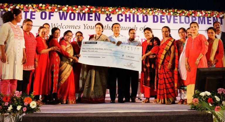 Smriti Irani launches Yashaswini scheme and Swasthya Sakhi project in Goa