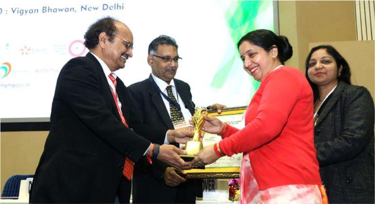 Anisha Sharma from Hamirpur, Himachal Pradesh, wins national award for entrepreneurship