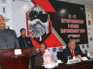 Conference on 'SC-ST Entrepreneurship and Women Empowerment' held in Shillong