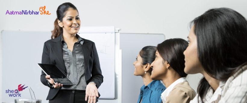 AatmaNirbhar She - Agile Startup Program