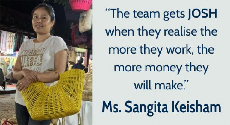 Women Entrepreneur-Entrechat with Ms. Sangita Keisham-SheAtWork