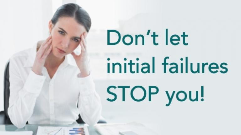 Women Entrepreneurs - Don't let failures stop you