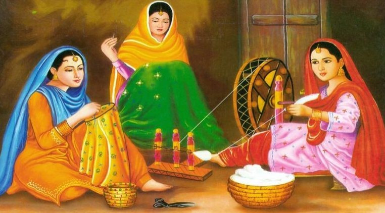 Phulkari, Under the charge of Rural Women in Punjab_1